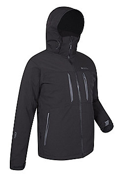Mountain Warehouse Hornet Mens Waterproof Jacket - Black