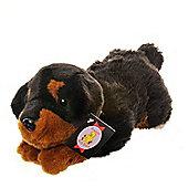 Dowman Rottweiler 38cm Plush Dog Soft Toy