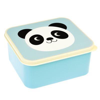 Children's Plastic Lunch Box - Panda, Panda Lunch Box, Kids Plastic Lunch Boxes