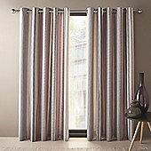 Dreams n Drapes Dexter Eyelet Curtains 66x72 Inches (168x183cm) - Lilac