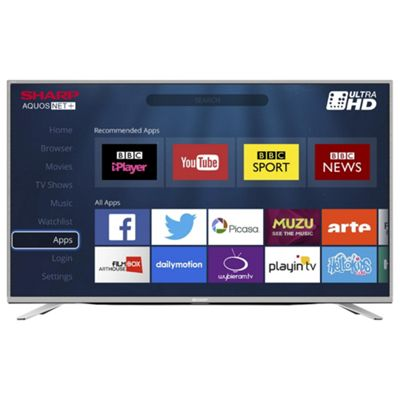 sharp 55 inch lc 55cug8052k 4k ultra hd smart led tv. sharp 55 inch lc-55cug8462ks 4k ultra hd led smart tv with freeview lc 55cug8052k hd led tv n