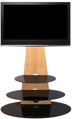 Gecko Orbit 1000 Light Oak TV Stand for 32 inch -55 inch TVs