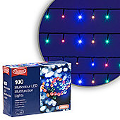 Simply Christmas 100 LED Multifunction Lights (Multi-Coloured)