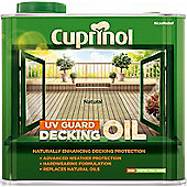 Cuprinol UV Guard Decking Oil - Natural - 2.5 Litre