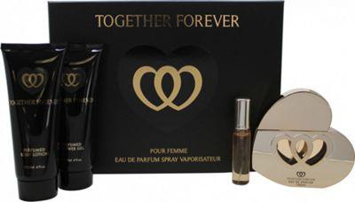 Laurelle Together Forever Gift Set 100ml EDP + 120ml Body Lotion + 120ml Shower Gel For Women