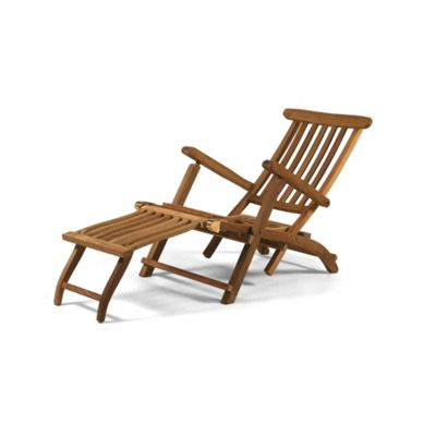 BrackenStyle Teak Steamer Chair