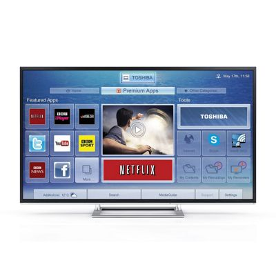 Toshiba 65L9363DB 65 LED Backlit UHD TV with Integrated Wi-Fi & Freeview HD