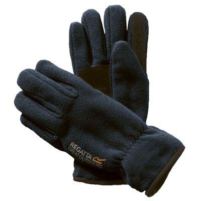 Regatta Mens Kingsdale Glove Navy S-M