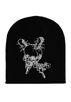 Metallica Damage Inc Black Slouch Beanie - Black