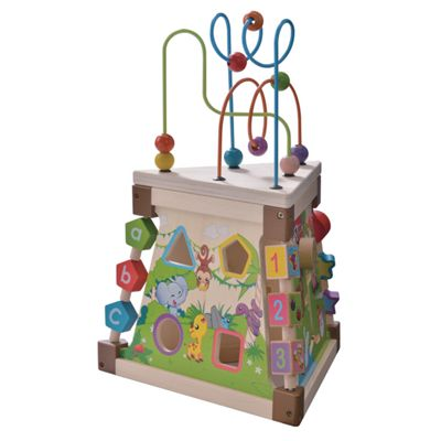 Triangle Activity Play Centre by EverEarth suitable from 18 months+