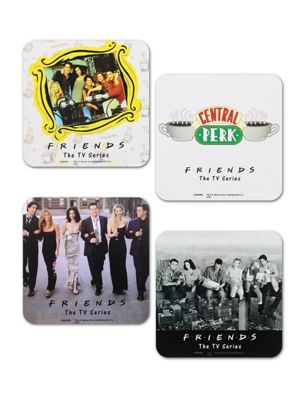 Friends The TV Series 4 Piece Coaster Set
