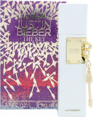 Justin Bieber The Key Eau de Parfum (EDP) 50ml Spray For Women