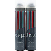 Taylor of London Chique Body Spray 2x 75ml For Women