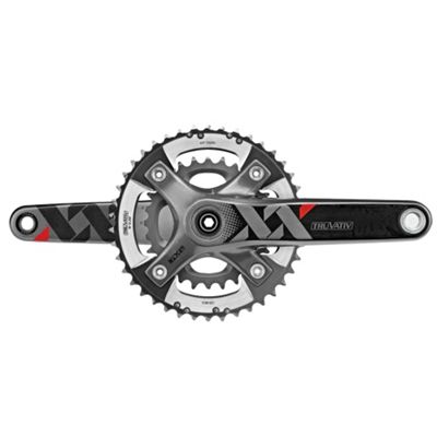 SRAM XX Chainset - GXP - 2x10 - Q-factor 156 - 175mm - 39-26t - (Excludes BB)
