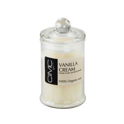 Vanilla Cream Small Candle in a Jar