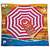 Jumbo Size 'Do Not Disturb' Beach Towel Blanket Accessories