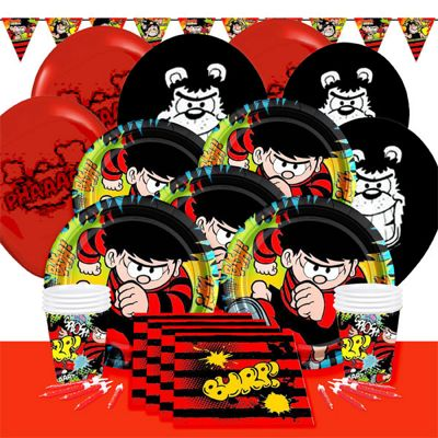 Dennis the Menace Deluxe Party Pack for 8
