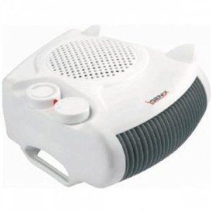 Igenix IG9010 2kW Flat/Upright Fan Heater - White