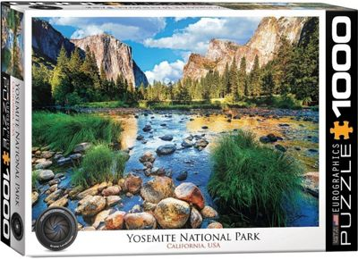 Yosemite El Captain - 1000pc Puzzle