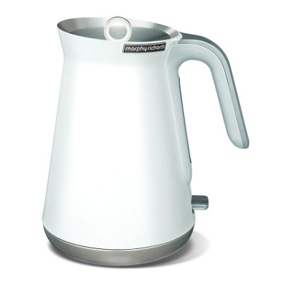 Morphy Richards 100003 Aspect Steel Jug Kettle - White