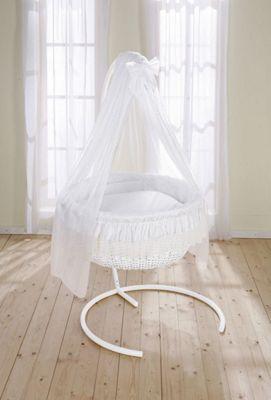 Leipold Dream Rondo Hanging Crib in White