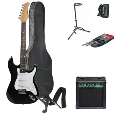 Rocket XF Series 3/4 Electric Guitar Pack with Amplifier – with 6 Months Free Online Music Lessons