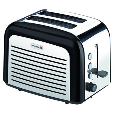 Breville VTT210 2 Slice Toaster Black Stainless Steel