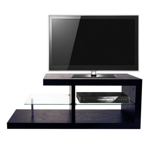Techstyle Chunky TV Stand - Black