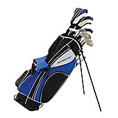 Golf package set with stand bag