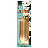 KitchenCraft Bamboo Chopsticks, Pack of Ten