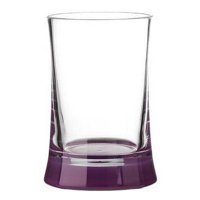 Premier Housewares Acrylic Tumbler, Purple/Clear