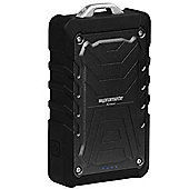 Promate Armor 9000mAh Dual Port Ultra-Tough Portable Rugged Power Bank for Tablet and Smartphones