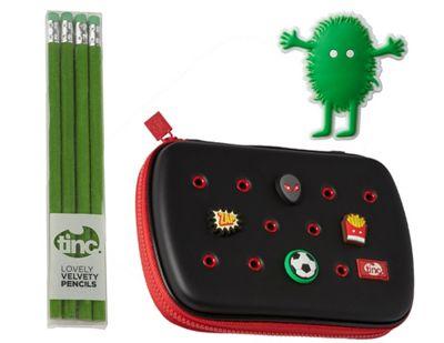 Buds Hardtop Gift Set - Black/Red