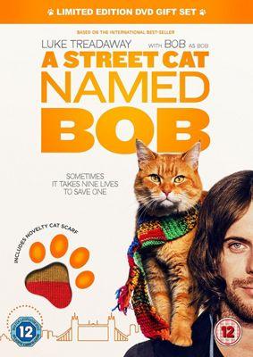 A Street Cat Named Bob Premium Sku With Cat Scarf