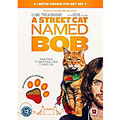 A Street Cat Named Bob Premium Sku With Cat Scarf