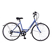 "Professional Tourist 700C Wheel Low Step Hybrid Bike 16"" Frame"