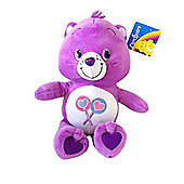 Care Bears Purple Lolly Share Care Bear 12 Inch Soft Toy