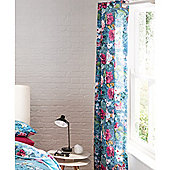 Catherine Lansfield Floral Garden Curtains 66x72 Inches (168x183cm)