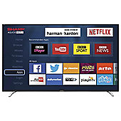 Sharp LC-40CFG6241K 40 Inch Full HD Smart TV with Freeview HD - Black / Silver