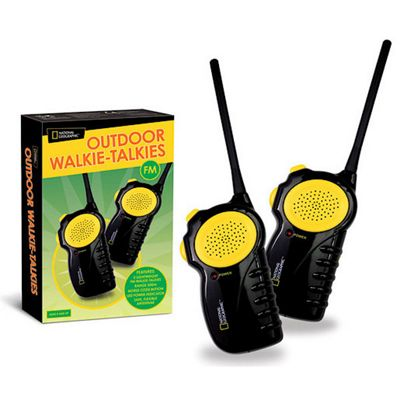 National Geographic Outdoor Walkie-Talkies