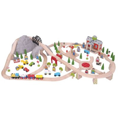 Bigjigs Rail Mountain Railway Set
