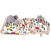 Bigjigs Rail Mountain Railway Set