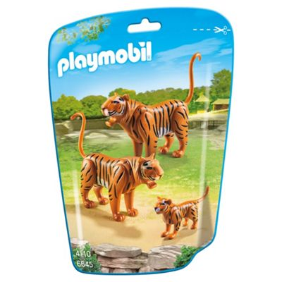 Playmobil 6645 City Life Zoo Tigers with Baby