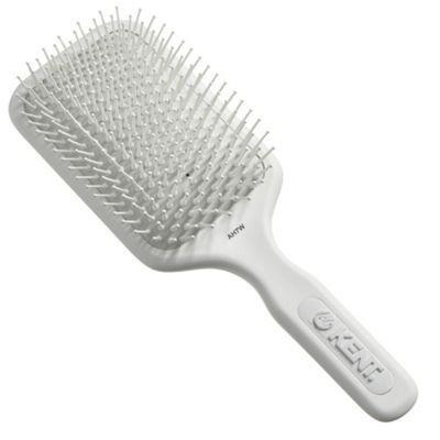 Kent Extra Large Phine Pin Cushioned Base Hair Brush - AH7 White