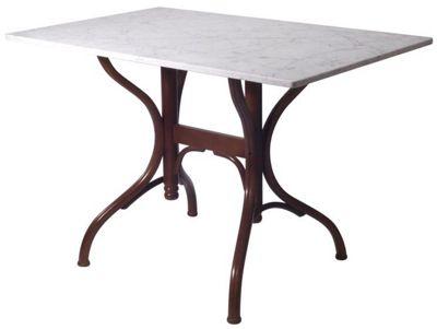 HND Classic Avignon Rectangular Table - Carrara Marble