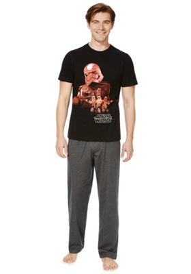 Star Wars Darth Vader Loungewear Set M Grey & Black