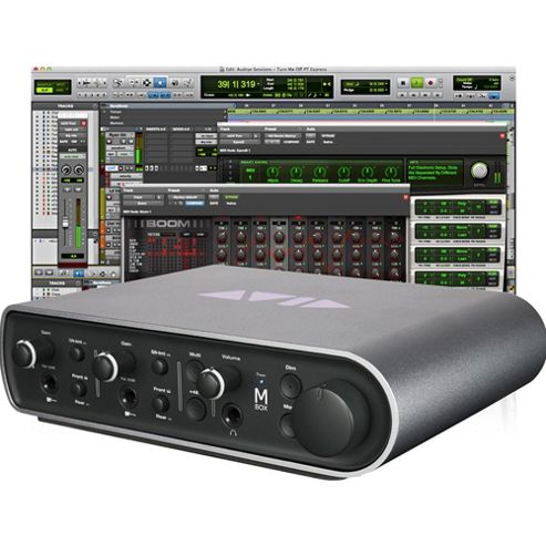 Pro Tools Express + Mbox Interface