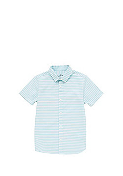 F&F Striped Oxford Shirt - Blue & White