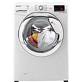 Hoover Washing Machine,DXOC68C3, 8kg load with 1600 rpm - White