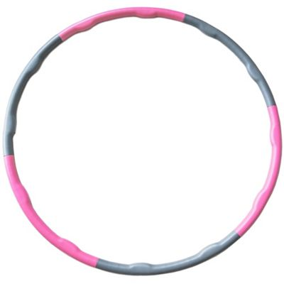 Andrew James Weighted Hula Hoop for Fitness & Exercise Programmes - Pink